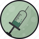 antidote, cure, medication, medicine, pharmacy, syringe icon