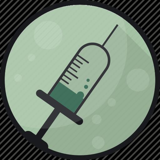 antidote, cure, medication, medicine, pharmacy, syringe icon