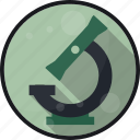experiment, laboratory, microscope, research icon