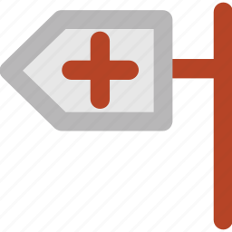 clinic, clinic board, doctor board, hanging board, medical board, medical sign icon