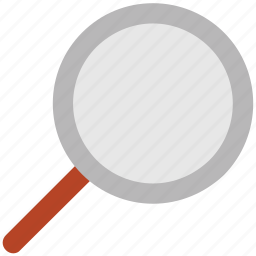 find, magnifier, magnifying glass, search tool, searching, zoom, zoom in icon