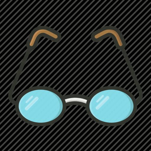 eyeglasses, eyewear, opticals, spectacles icon