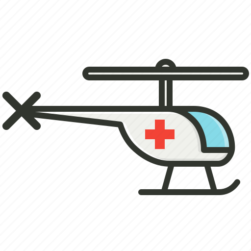 air ambulance, air paramedic, emergency, helicopter icon