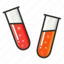 chemicals, chemistry lab, experiment, medical, science, test tube icon