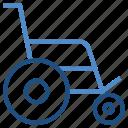 armchair, handicap, hospital, medical, wheel chair icon