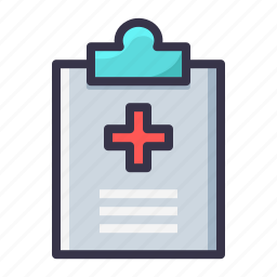 board, description, graph, healthcare, medical, policy, report icon
