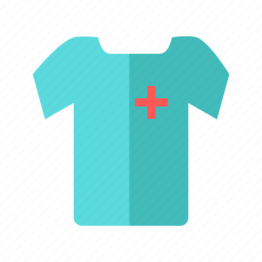 cloth, male, medical, nurse, provider, staff, tshirt icon