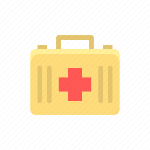 bag, firstaid, kit, medical, medicinebox, treatment icon