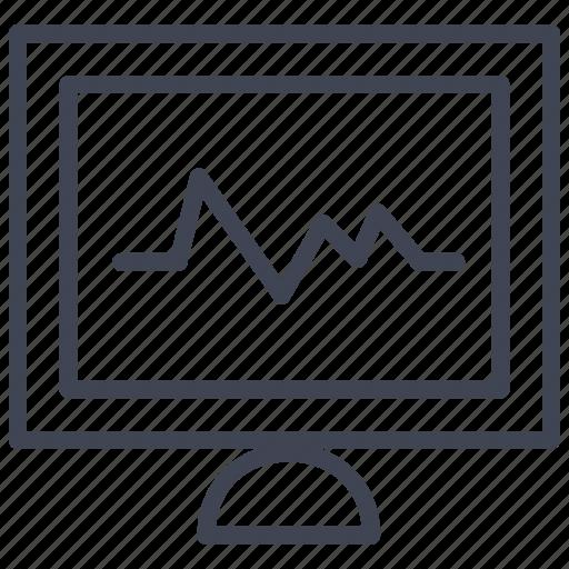 Computer, screen, display, medical, medicine, monitor icon - Download on Iconfinder