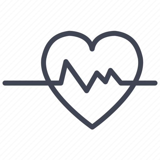 Heartbeat, health, healthcare, heart, medical, medicine icon - Download on Iconfinder