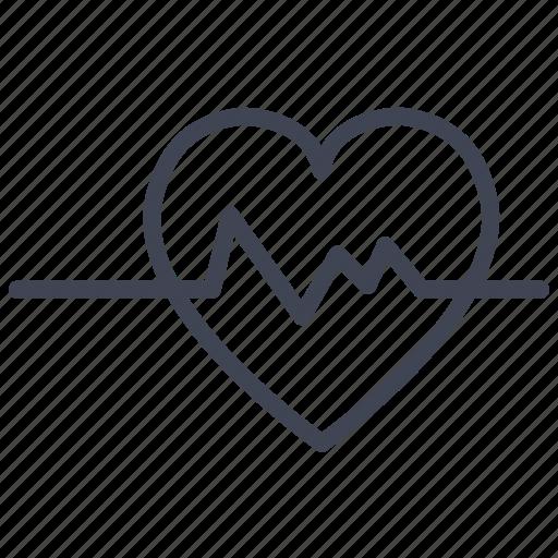 health, healthcare, heart, heartbeat, medical, medicine icon