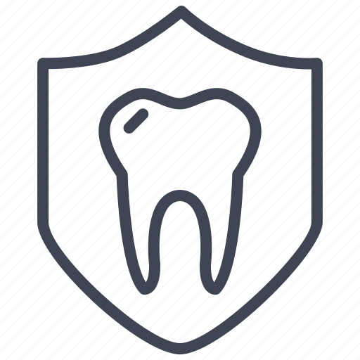dental, health, healthcare, hospital, medical, protection, tooth icon