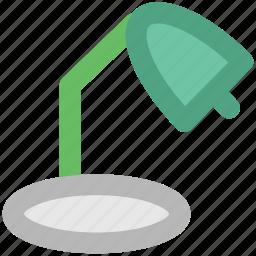 clinical light, desk lamp, light fixture, surgery light, table lamp, torch icon