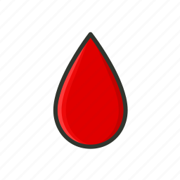 blood, blood donation, blood drop icon