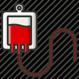 blood bag, blood transfusion, human blood, transfusion icon