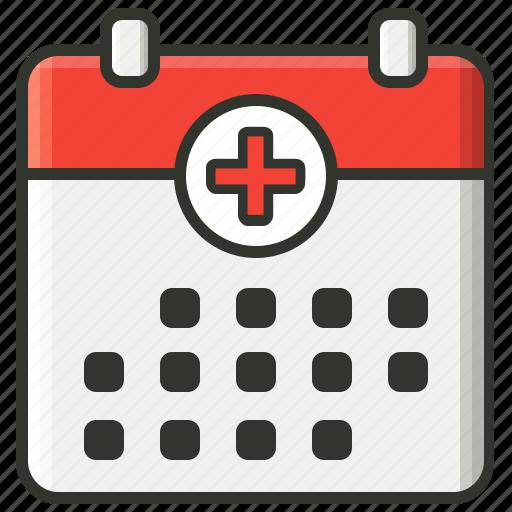 Calander, medical icon - Download on Iconfinder