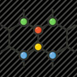 atom, bond, chemical, chemical bond, compound, medical, molecule icon