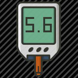 glucose, health check, healthcare, medical, monitor icon
