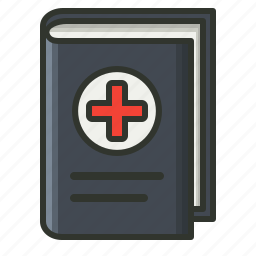 book, education, medical, study icon