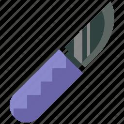 blade, care, health, hospital, medical, scalpel, surgery icon