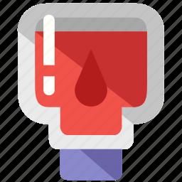 bag, blood, care, health, liquid, medical icon