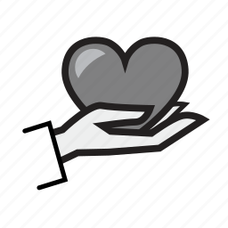 donor, health, healthcare, heart, heart care, heartcare, medical icon