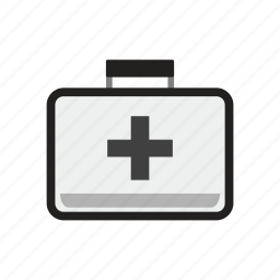 aid, case, doctor, hospital, medical, medikit, paramedic icon