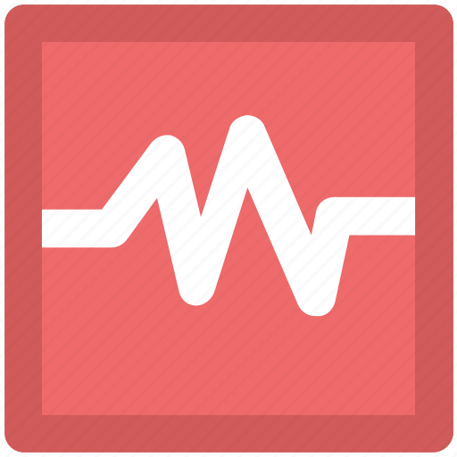 ecg, electrocardiogram, heartbeat, heartbeat screen, lifeline, pulsation, pulse, pulse rate icon
