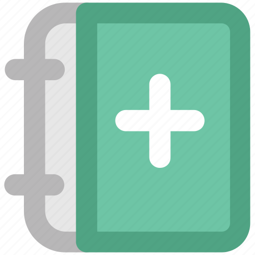 book, booklet, healthbook, instructions, manual, medical, medical book, medicine book icon