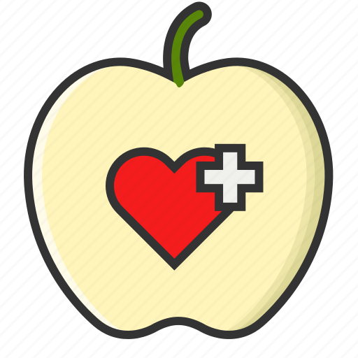 apple, fitness fruit, healthcare, healthy life, healthy medical, life, medical icon