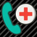 call, call doctor, call hospital, emergency, hospital