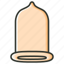 condom, contraceptive, medical, pregnancy, protection, safety sex icon