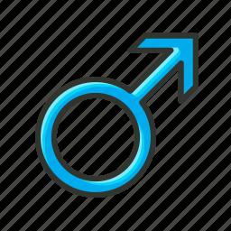 boy, gender symbol, male, male symbol, man, medical, sex symbol icon