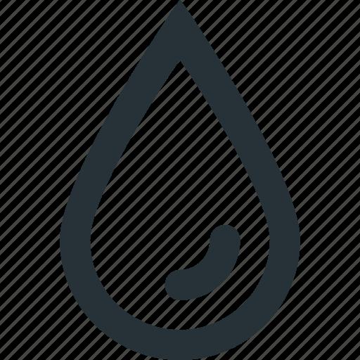 blood, drop, rain, sample, test, water icon