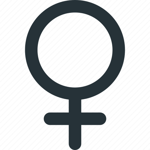 female, feminine, gender, girl, lady, woman icon