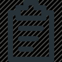 chart, folder, information, portfolio, report, test icon