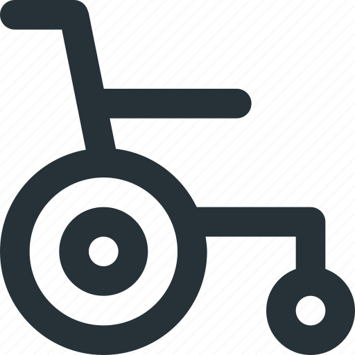 access, dislabled, mobility, transport, wheel, wheelchair icon