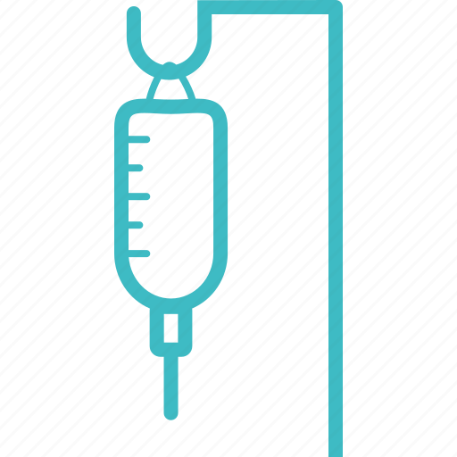 bottle, medical, saline, water icon