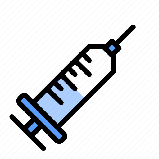Health, injection, medical, medicine, needle, syringe, vaccine icon - Download on Iconfinder