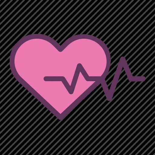 care, guardar, heart, heartbeat, life, love, save, treatment icon