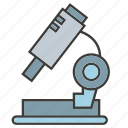 equipment, lab, laboratory, microscope, science icon