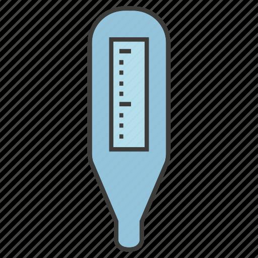 equipment, fever measuring, flu, medical, temperature, thermometer icon