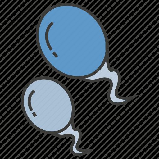 cells, reproduction, science, semen, sperm icon
