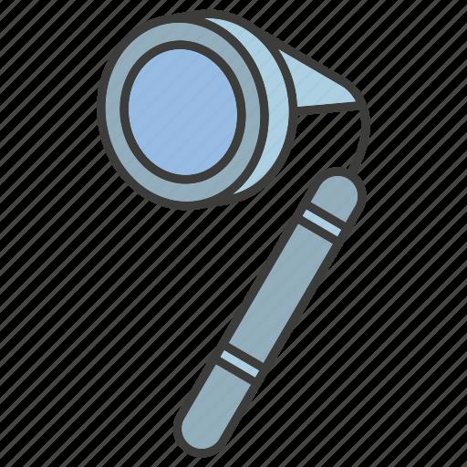 dental, dental tool, equipment, instrument, mirror, probe, tool icon