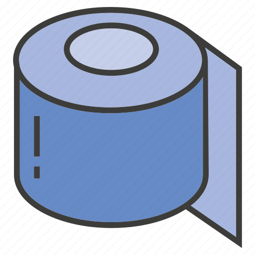 Paper roll, toilet paper icon - Download on Iconfinder