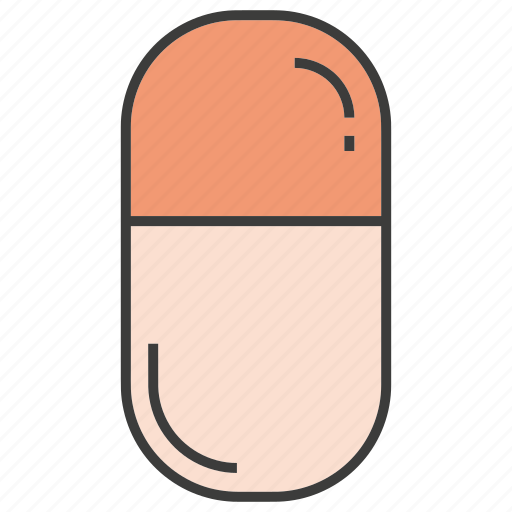 capsule, drug, medical, medicine, pill icon