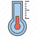 cold, fahrenheit, measuring, temperature, thermometer, thermostat icon