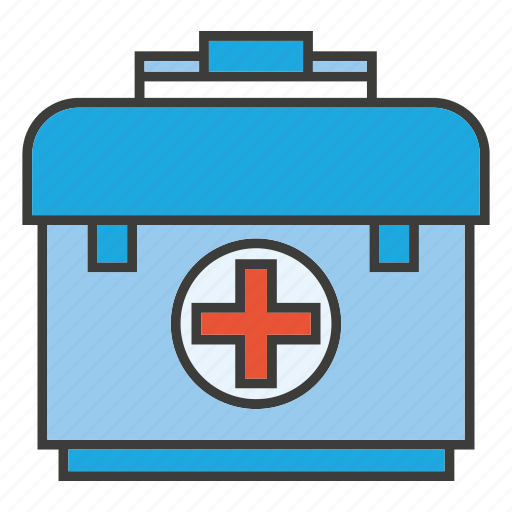 bag, first aid kit, medical, pharmacy, rescue icon