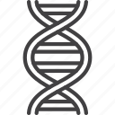 dna, genetic, molecule, science icon