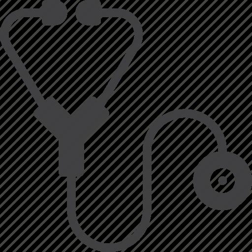 cardiology, diagnostic, medical, stethoscope icon